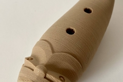 Kereama Taepa, Taonga puoro, 3D-print