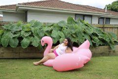 Louisa Afoa, Pink Flamingo